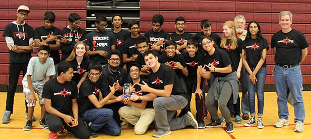 Benzene Bots' win Birmingham robotics tournament