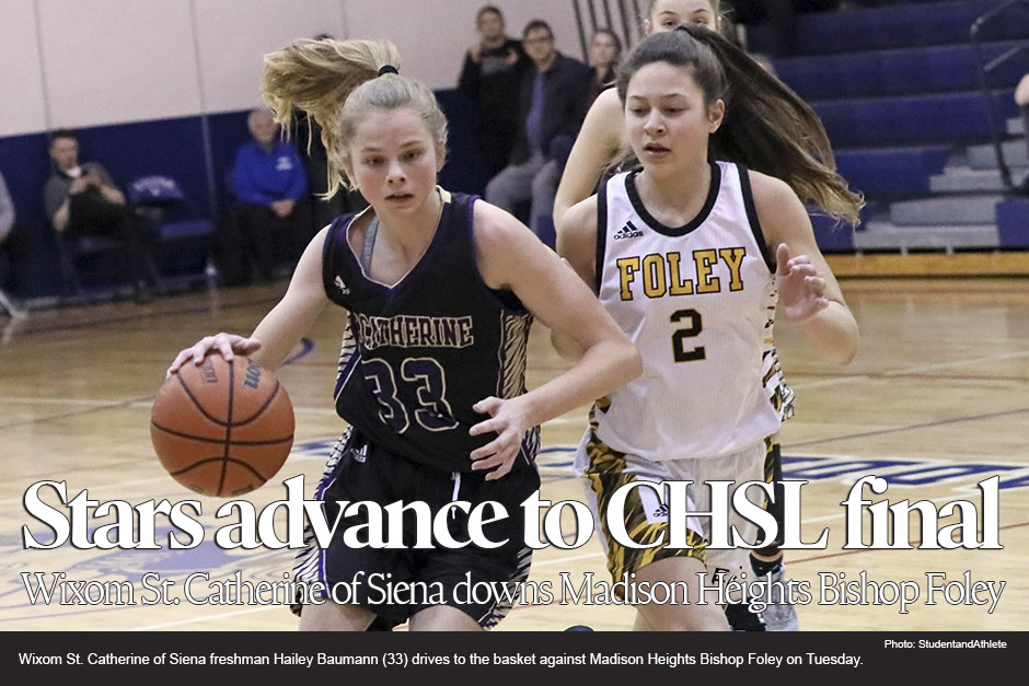 Wixom St. Catherine of Siena 50, Madison Heights Bishop Foley 35