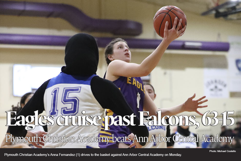 Boys basketball: Plymouth Christian Academy beats Ann Arbor Central Academy.