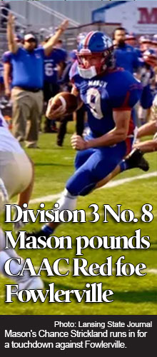 Mason football takes 'another big step' toward goals with key win over Fowlerville