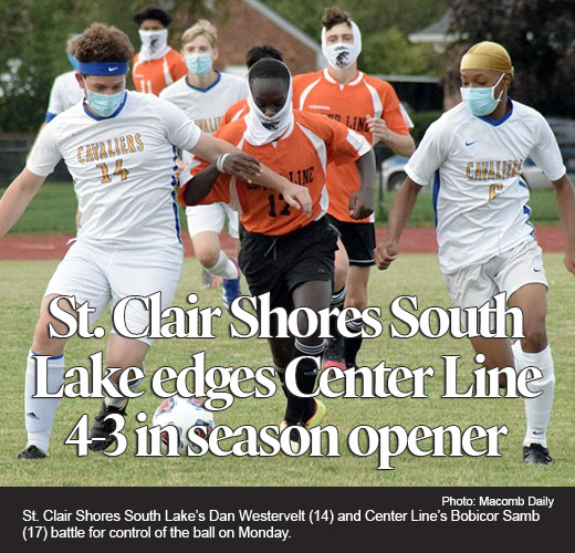 Seniors lead South Lake to soccer victory over Center Line